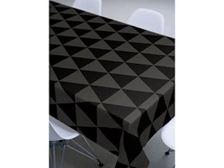 Södahl Pöytäliina 140x180 cm, Mustakuvioitu