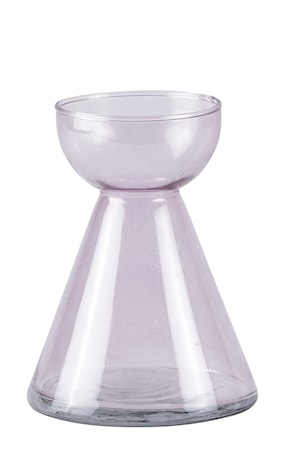 Bilde av KJ Collection Vase Glass Blomstrete 15 cm