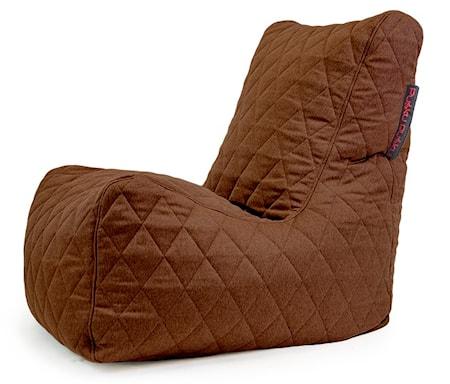 Pusku Pusku Seat quilted nordic sittsäck ? Chocolate