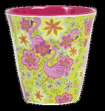 Melaminkopp Tvåtonad Flamingo