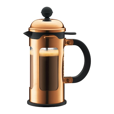 Bodum Chambord Kaffebrygger 3 kopper 35 cl Kobber thumbnail