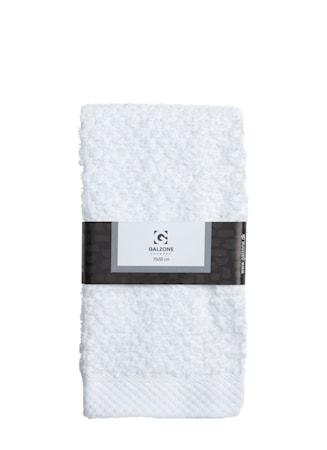 Galzone Håndklæde - 100% bomuld - 400 g - Hvid - L 70,0cm - B 50,0cm - Sleeve - Stk. thumbnail
