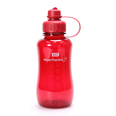 Brix Water Tracker 1,0L, red