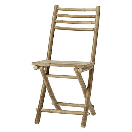 Mandisa Bamboo folding chair 95x45 cm.