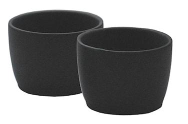 Dip-skål Fondue, keramik, 2-pack