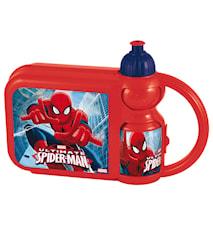 Kombi flaska+matlåda Spiderma