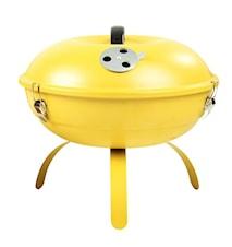Grill med stekhäll gul