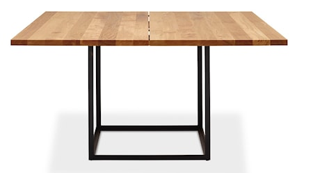 Dk3 Jewel table Oil oak, Black 140 cm
