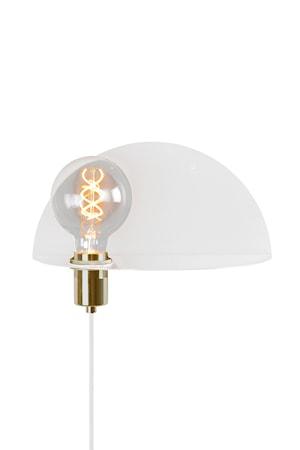 Walldorf Vägglampa Vit