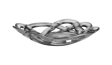 Kosta Boda Basket Hopeakulho Ø 38,5 cm