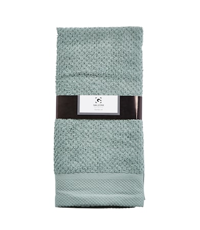 Galzone Håndklæde - 100% bomuld - 400 g - Støvgrøn - L 100,0cm - B 50,0cm - Sleeve - Stk. thumbnail
