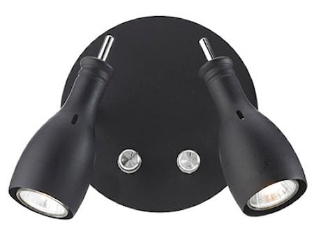 Bilde av Markslöjd Lammhullt Vegglampe 2 Lys Svart