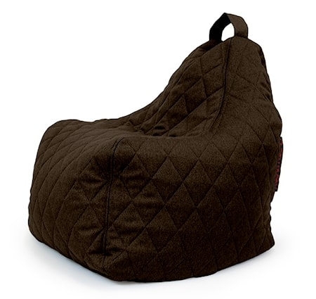Pusku Pusku Play quilted nordic sittsäck - Chocolate