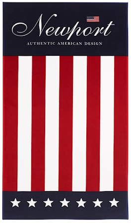 Newport Collection Stars & Stripes beach towel