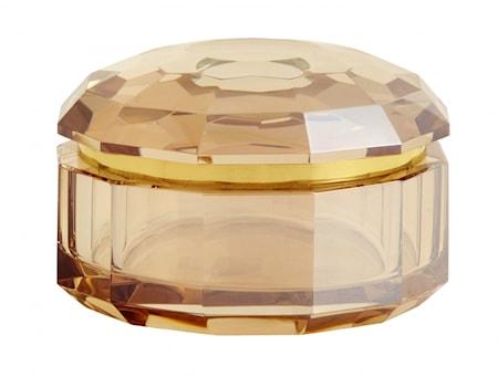 CRYSTA box, amber col, S
