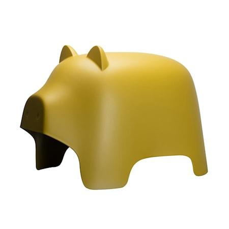 Stol Piggy Gul
