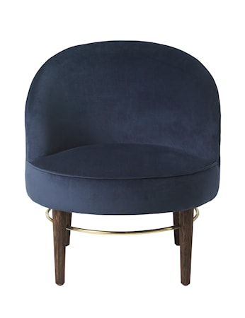 Fåtölj Club Lounge Royal Blue