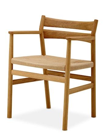 Dk3 BM2 stol BM2 stol ? Ek med läderdyna