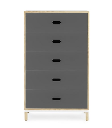 Normann Copenhagen Kabino 5 drawers byrå ? Grå