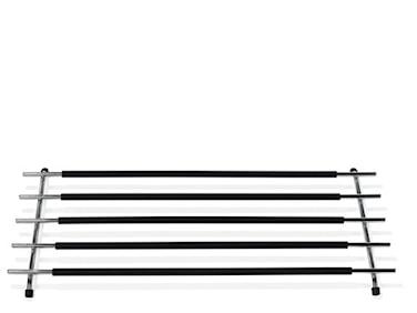 Grytunderlägg 50x25 cm Krom