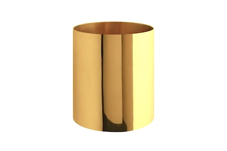 Gusums Messing Vas mässing cylindrisk 144 x 125 cm