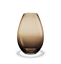 Vase, brun, H 26 cm