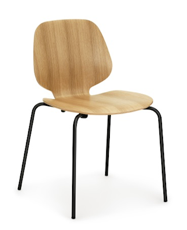 Normann Copenhagen My Stol Eg/Sort thumbnail