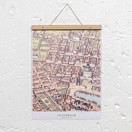 Bilde av Owl streets Östermalm poster