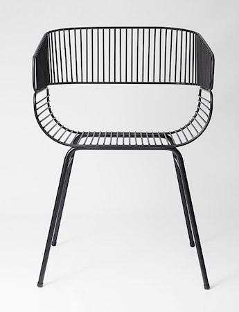 Petite Friture Trame Chair - svart