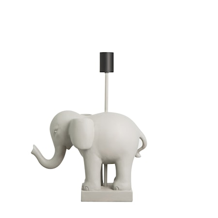 Bordslampa Elephant Grå