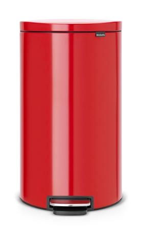 Brabantia Flatback + poljinroskis punainen 30 L