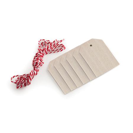 Nordic Ware Lahjalaput narulla, Puu 6-pack
