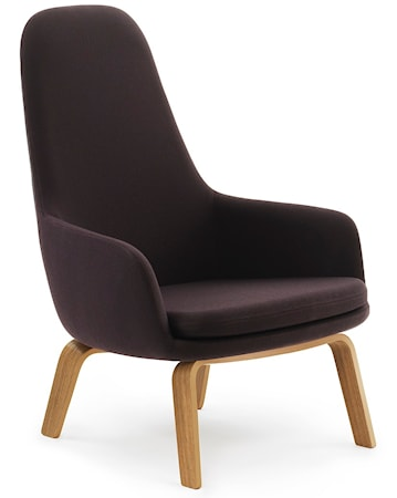Normann Copenhagen Era Lounge Chair High Oak Fame