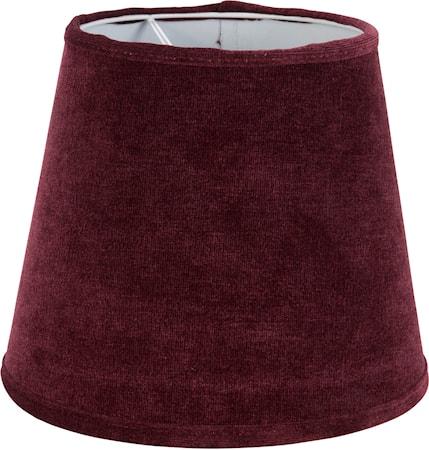 Bilde av PR Home Queen Lampeskjerm Sammet VinRød 12 cm