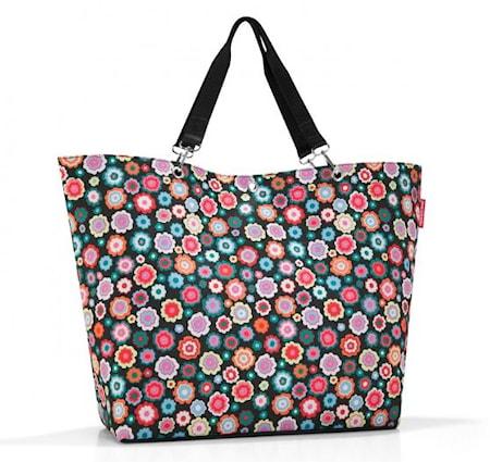 Shopping väska XL Blommig 35 L