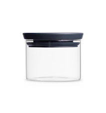 Glasburk Stapelbar 0.3 Ltr Glas/Grått Lock