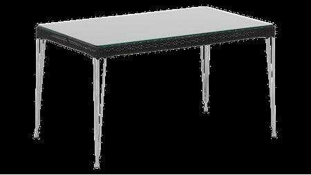 Sika Design Mercur soffbord - Inkl glasskiva, black