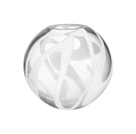 Bilde av Kosta Boda Globe Hvit Vase
