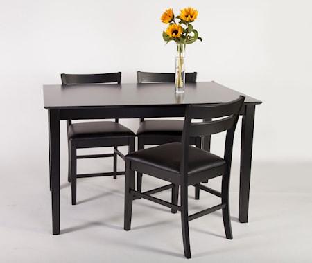 Falsterbo Monaco matgrupp med 4 stolar