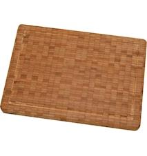Skärbräda, bamboo, mellan. 355x30x250 mm