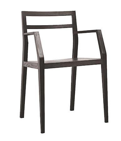 Mint Emma chair stol 2-pack - Svart ask