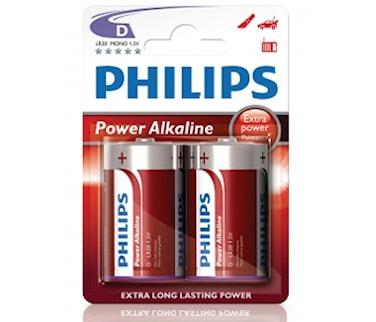 Power Alkaline D LR20  2-pack