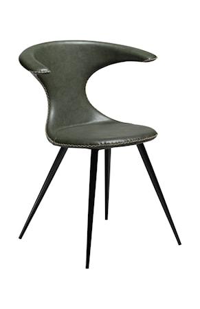 Dan Form Denmark Stol Flair Konstläder - Vintage Grön