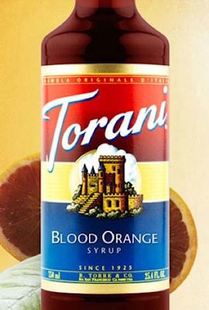 Torani Blood Orange Syrup 750 ml -