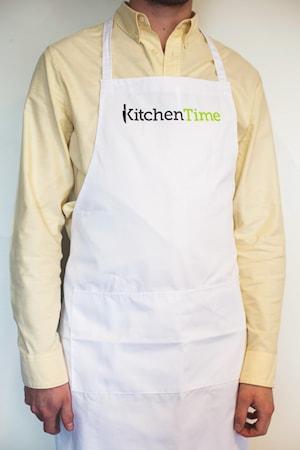 Förkläde Kitchentime Vit