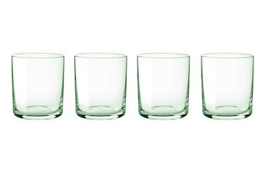 Simply glas 4 st - grön
