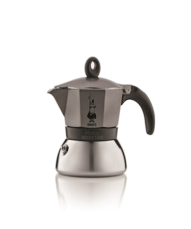 Bryggare Moka Induction Anthracite 3/k