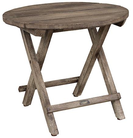 Artwood Vintage round sidetable