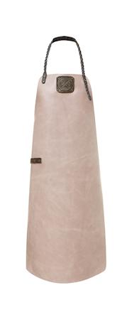 Witloft Nahkainen esiliina Vaaleanpunainen/harmaa