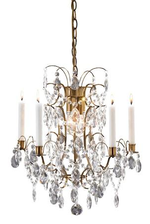 Bild på Markslöjd Ryholm Lampa 3 Ljus Antik